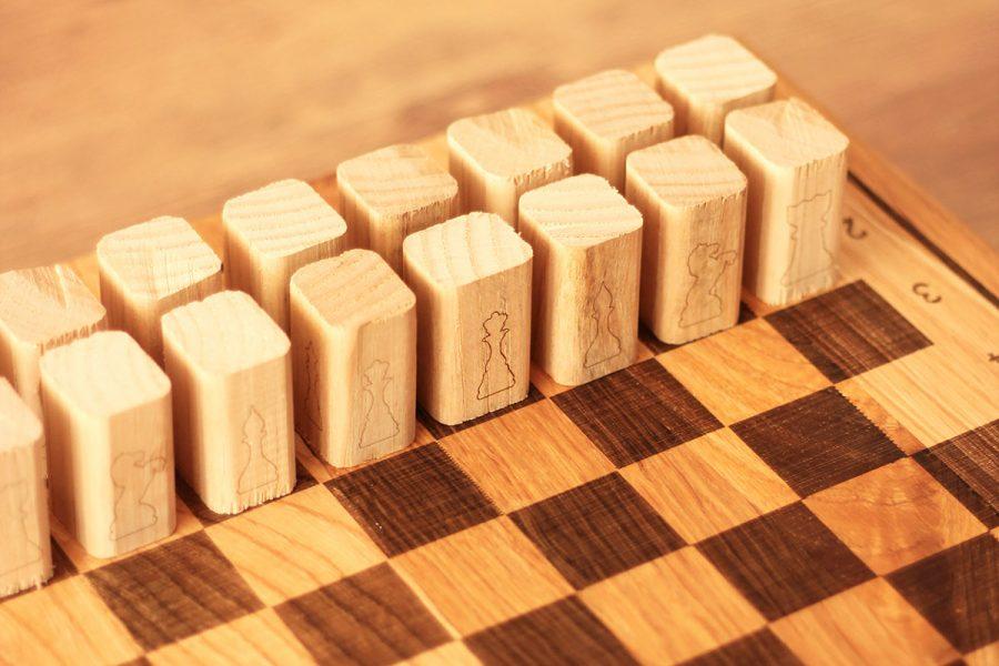 Chessboard-wooden-Chestnut-wood-design