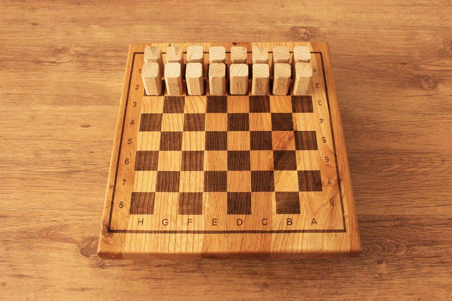 Chessboard-wooden-Chestnut-wood-design-idea