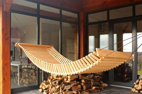 Wooden Hammock - FabsFurniture-Garden-Design-Hamoc