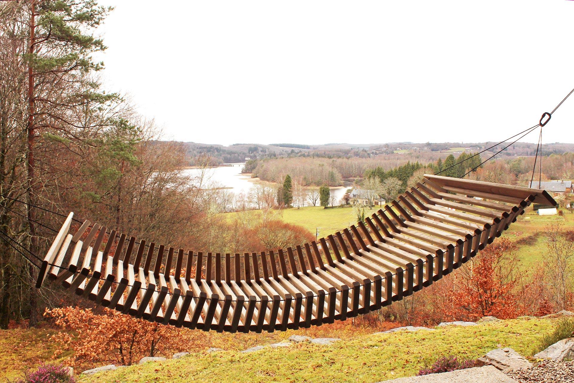 Hamac en bois - FabsFurniture - jardin - Design