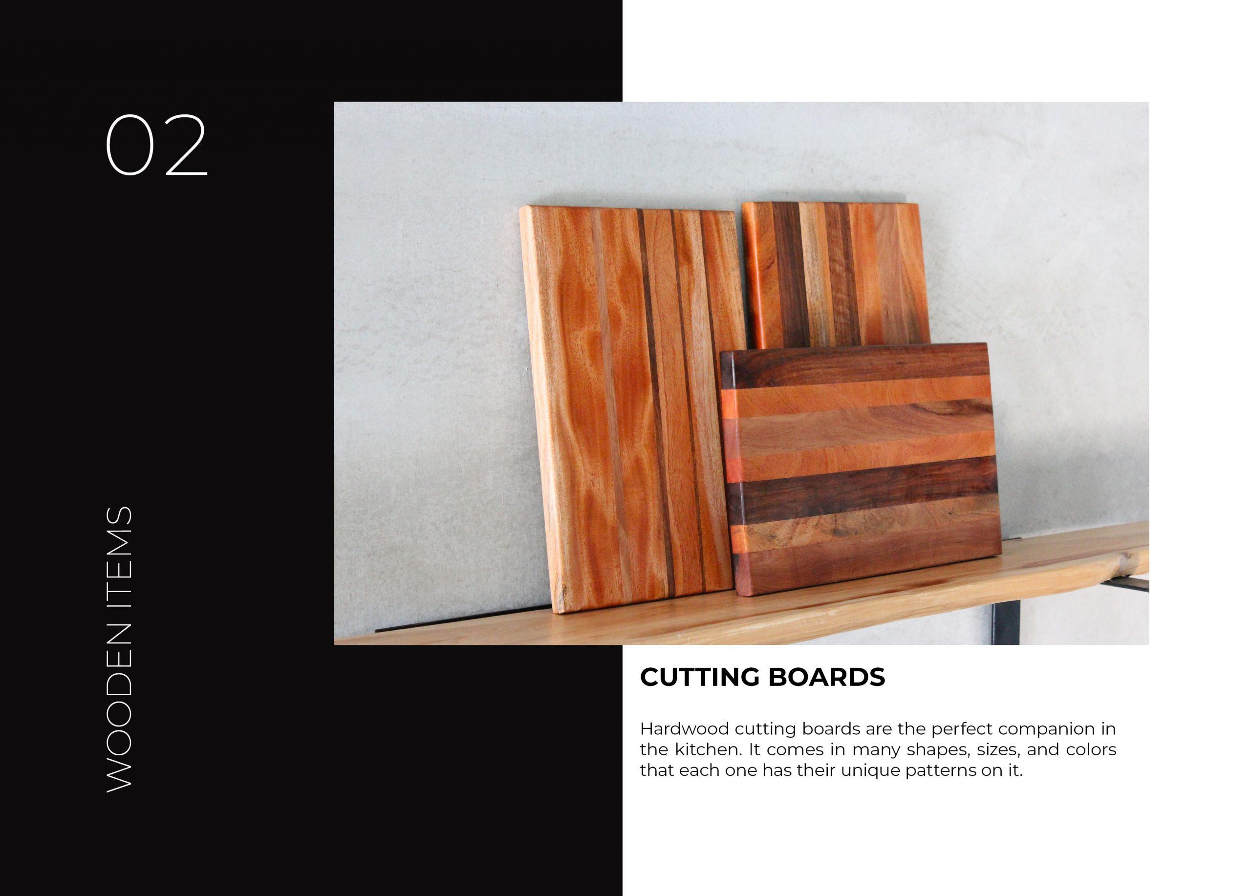FabsFurniture Taiwan Portfolio - 2021 - Cuttingboards