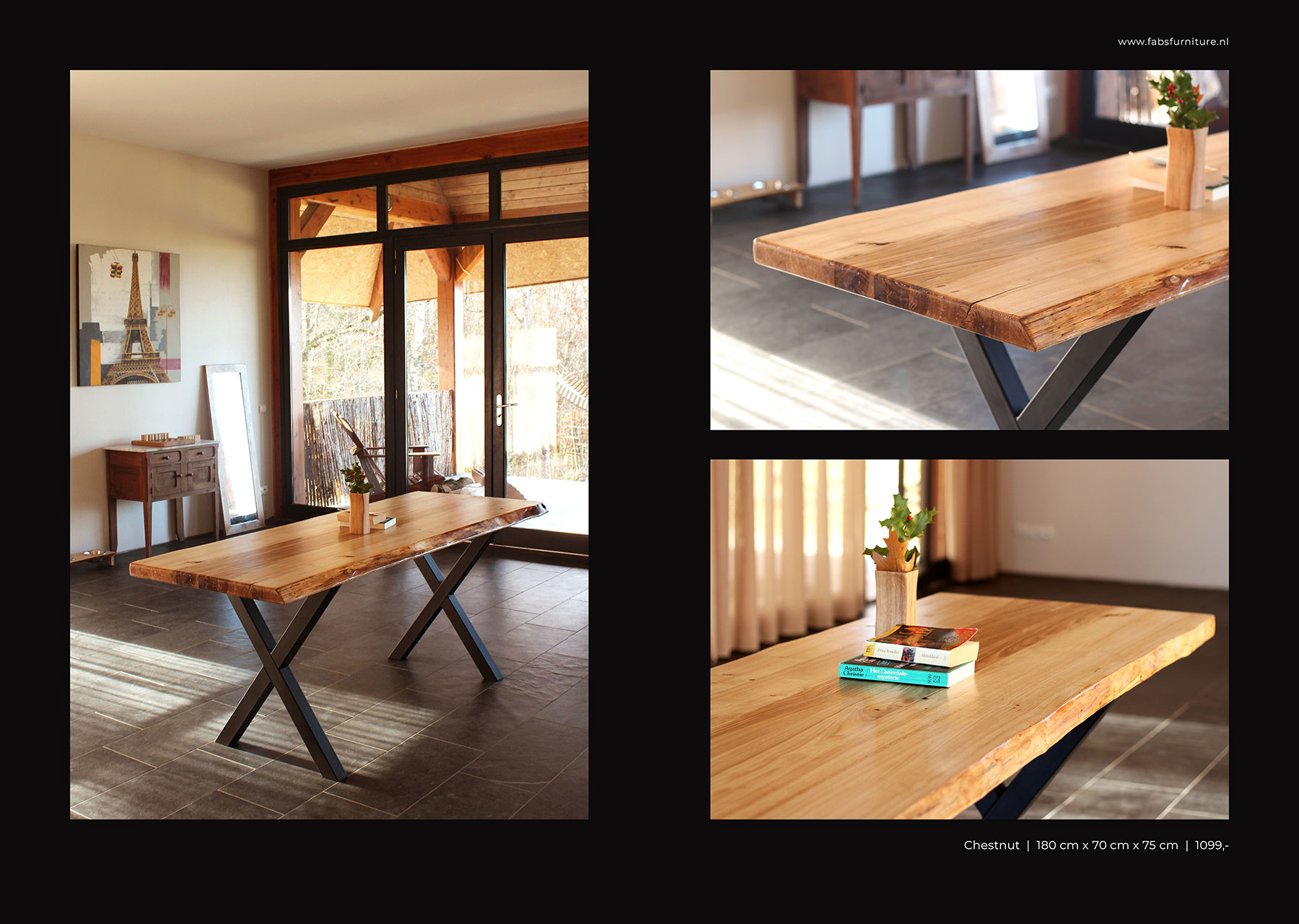 FabsFurniture Europe Portfolio - 2021 - wood dining table
