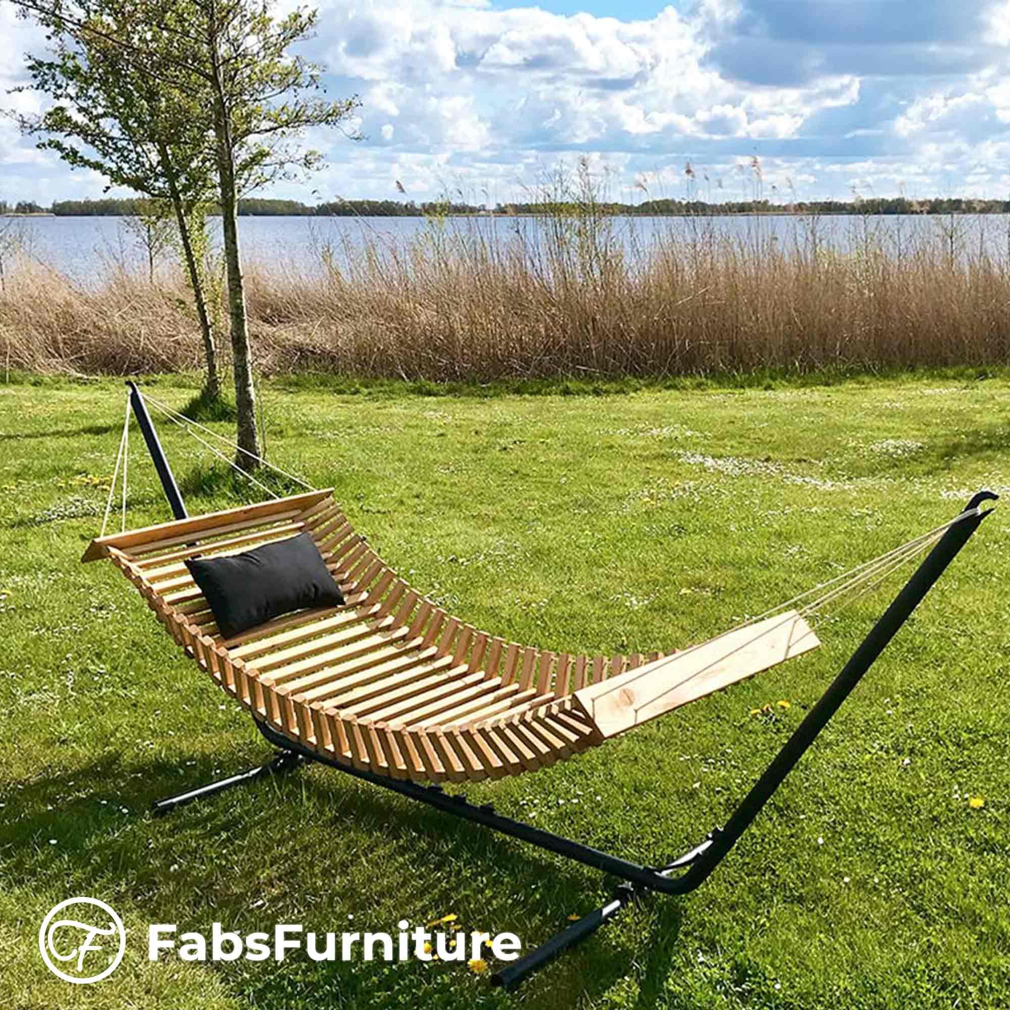 FabsFurniture - Hamac Bois - Hamac en Bois - Nieuwkoop - Les Pays-Bas