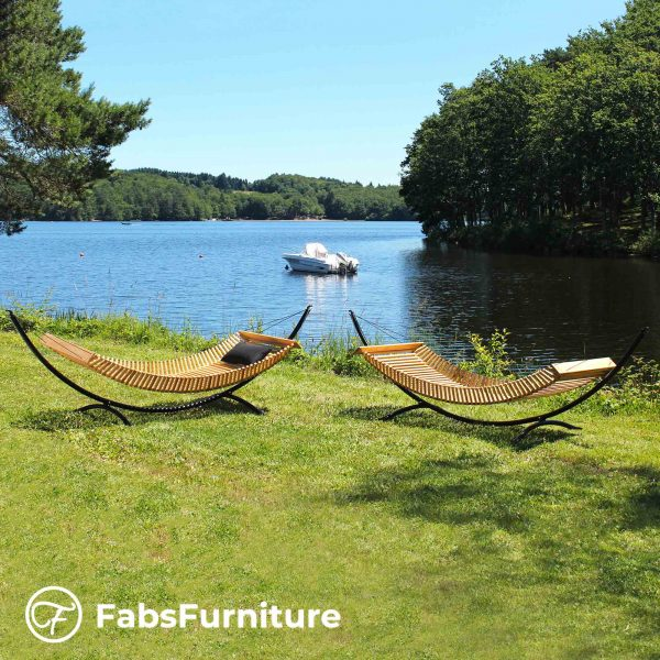 FabsFurniture-Wooden-Hammock-two-hammock-at-lake-1