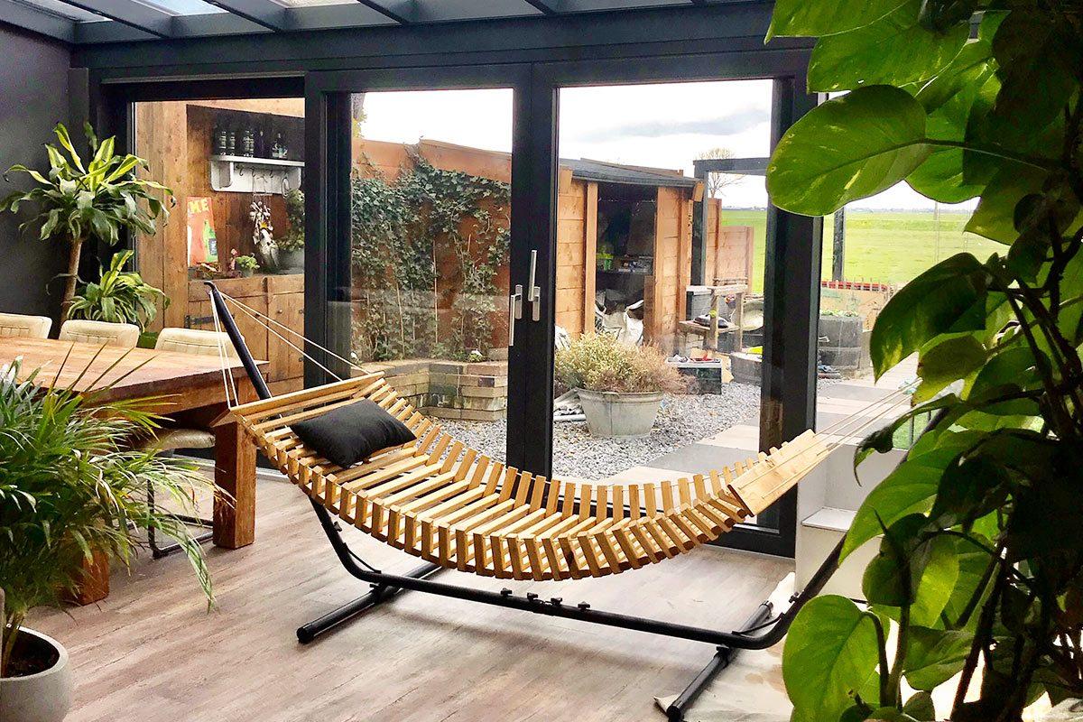 FabsFurniture - Hamac Bois - Hamac en Bois - Nieuwkoop-patio